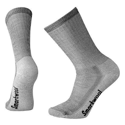 Smartwool Unisex Hike Sock Size:10-13/Shoe Size: 6-12 Crew Gray LG (Men's Shoe 9-11.5, Women's Shoe...
