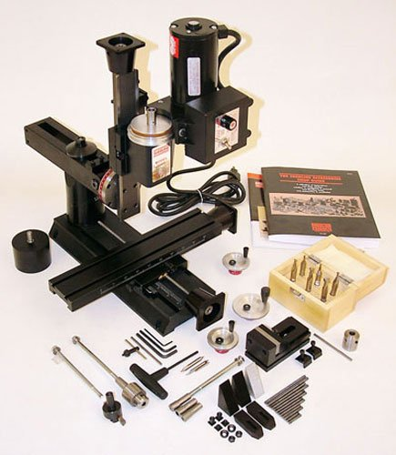 (Sherline 2000A CNC-Ready Deluxe 8-Direction Mill Package)