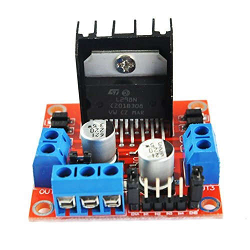 Part & Accessories WOTT Smart car tire kit Contains 4 Sets of Motor 4 Sets of Tires Plus L298 Driver Board Plus Official UNO R3 Motherboard ()