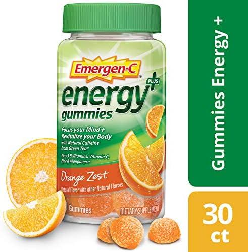 Emergen C Dietary Supplement Caffeine Vitamins