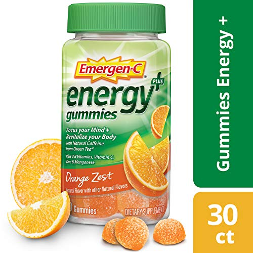 Emergen-C Energy+Vitamin B, C and Natural Caffeine from Green Tea