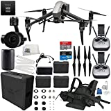 DJI Inspire 2 Premium Combo with Zenmuse X5S and CinemaDNG and Apple ProRes Licenses Filmmaker Essential Travel Bundle