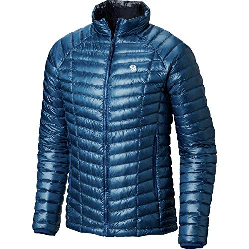 (Mountain Hardwear Ghost Whisperer Reversible Jacket - Men's Nightfall Blue/Dark Zinc,)