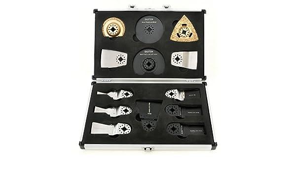 SHMX8BFX Saxton Juego de 8 cuchillas para Aldi Ferrex 300W multifunci/ón