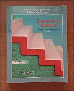 Elementary Statistics A Step By Step Approach Eighth Edition