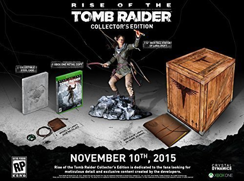 Rise of the Tomb Raider Collectors Edition by Square Enix by Square Enix
