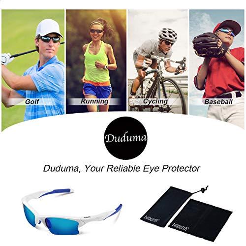 419b17acba4 Duduma Polarized Sports Sunglasses for Men Women Baseball Fishing Golf  Running Cycling Driving Softball Hiking Unbreakable