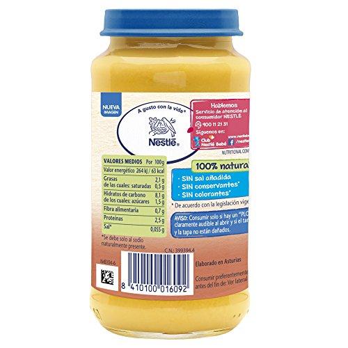 Nestlé Naturnes - Arroz Blanco con Pollo - A partir de 6 meses - 250 g: Amazon.es: Alimentación y bebidas