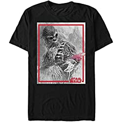 Solo: A Star Wars Story Men's Chewie Blaster Black T-Shirt