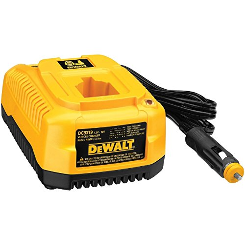 DEWALT DC9319 7.2-to-18-V 1-Hour Vehicle Charger Bulk Packed # 649174-00