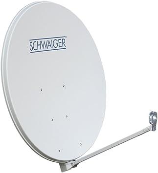 Antena Parabólica 100cm Offset Aluminio Sat: Amazon.es ...