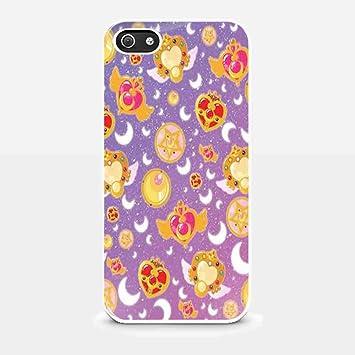 cute logo Sailor Moon Wallpaper for iPhone 5/ 5s White case ...