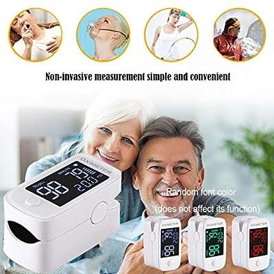 Yikey Fingertip Oxygen Monitor, Finger Oxygen Sensor for Household LED Display - Easy Check and use Finger Oxygen Monitor: Toys & Games