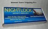 Nightlock Security Lock Door Barricade Dark