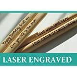 Personalized drum sticks 5A, high quality maple wood, custom laser engraved gift