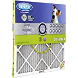 BestAir PF2020-1 Furnace Filter, 20 x 20 x 1, Carbon Infused Pet Filter, MERV 11