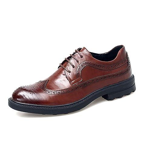 Apragaz Zapatos Oxford de Vestir para Hombre, Zapatos de ...