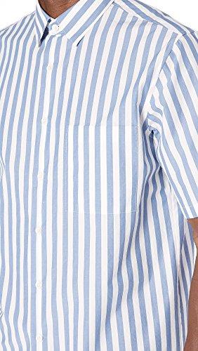 Theory Men's Brunner Lounge Stripe Shirt, Tidal, Medium by Theory (Image #5)