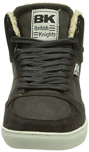 British Knights DOUGLAS - zapatillas deportivas altas de material sintético mujer gris - Grau (DK Grey01)