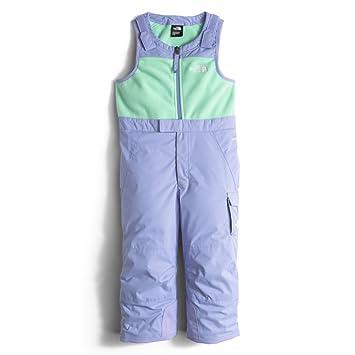 6c4828d99c60c The North Face Insulated Bib Toddler Girls Ski Pants - 4 Grapemist Blue   Amazon.ca  Sports   Outdoors