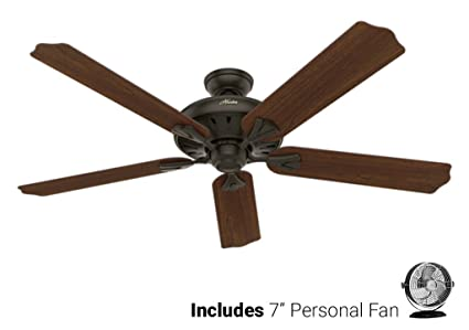 Hunter ceiling fan brown 54018 royal oak 60 with remote new bronze hunter ceiling fan brown 54018 royal oak 60quot with remote new bronze desk aloadofball Gallery