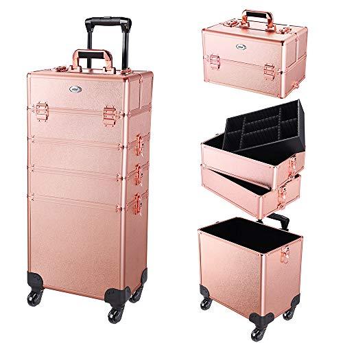AW Portable Cosmetic Organizer Aluminum