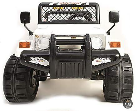 Ataa Todo Terreno Estilo Jeep 4x4 12v Blanco Coche Electrico