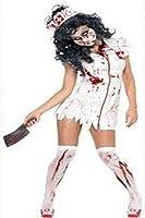 Dear-lover Women's Halloween Dress Small White