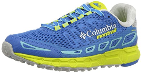 Columbia Ladies Bajada Iii Running Shoes Blue (static Blue / Zour 489)