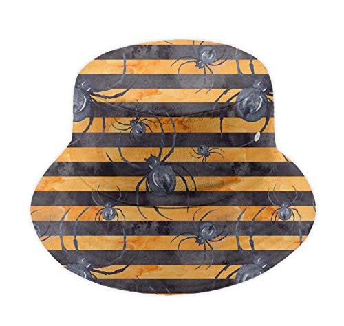 Bucket Hat Fisherman Cap Summer Wide Brim Sun Hat - Halloween -