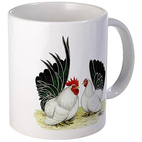 CafePress - Japanese Black White Bantams Mug - Unique Coffee Mug, Coffee Cup by CafePress