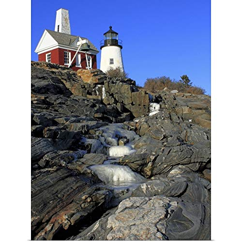 GREATBIGCANVAS Poster Print Entitled Pemaquid Point I by Jason Veilleux 12