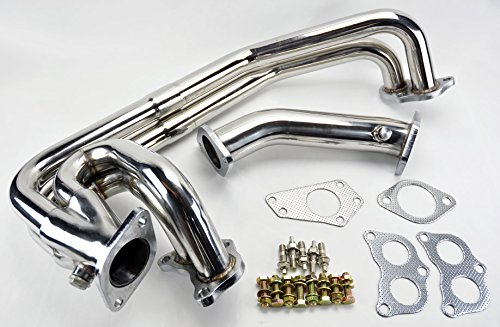 Unequal Slip Joint Exhaust Manifold Header & UpPipe FITS Subaru Impreza WRX/STi