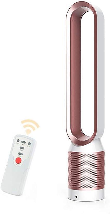 Ventilador sin aspas Aire, Climatizador portátil, Controlar el Flujo de Aire Ventilador eléctrico de enfriamiento Bajo db para el hogar y la Oficina, Seguro para ...