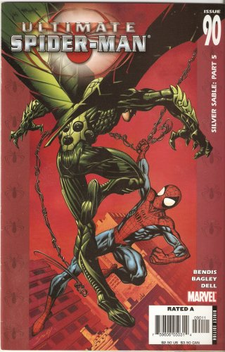 Ultimate Spider-man #90 (Silver Sable: Part 5) April 2006