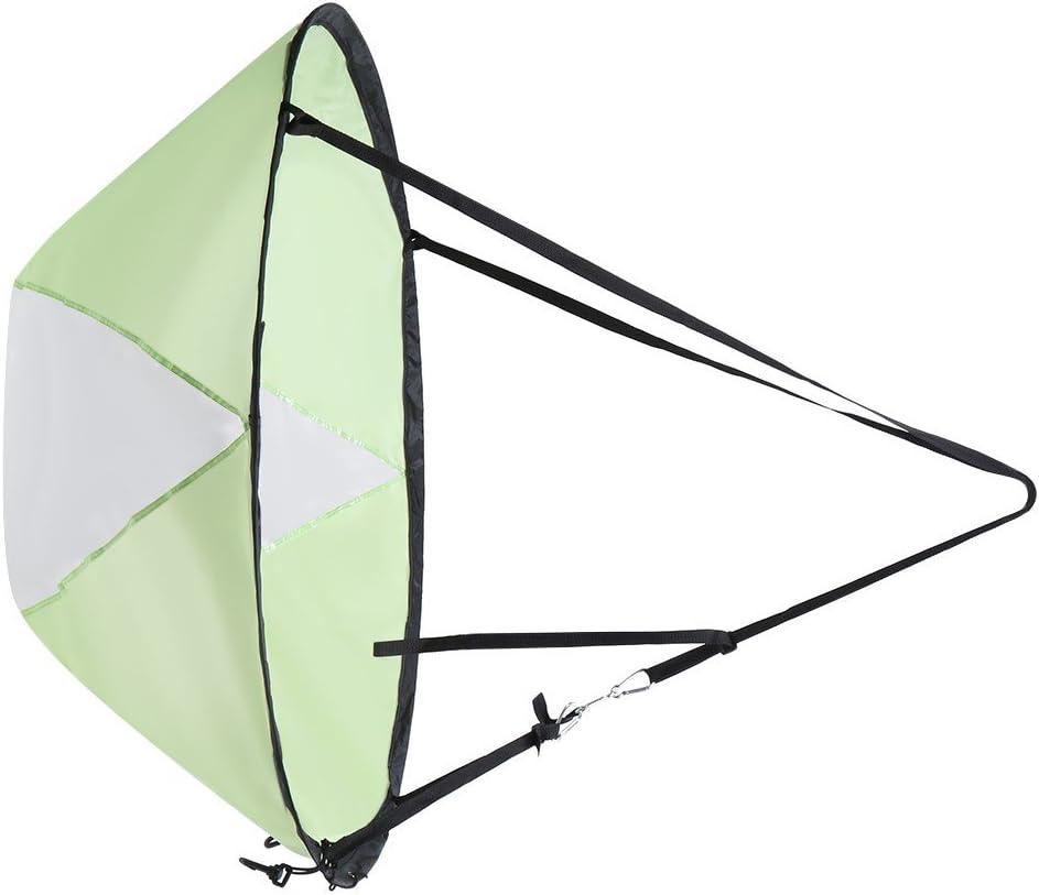 Zdmathe 42 Durable Fore Wind Sail Sup Paddle Conseil Instantan/ée Popup pour Kayak Bateau Voilier Cano/ë Pliable
