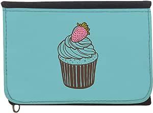محفظة بتصميم قطعة كعك ، قماش جينز