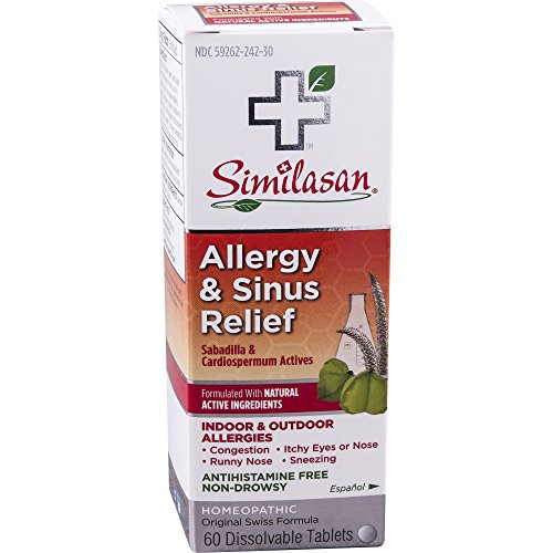 Similasan Allergy & Sinus Relief, 60 ct