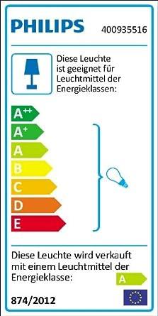 Philips Colgante 40591//55//16 Iluminacion E27 Multicolor 20 W