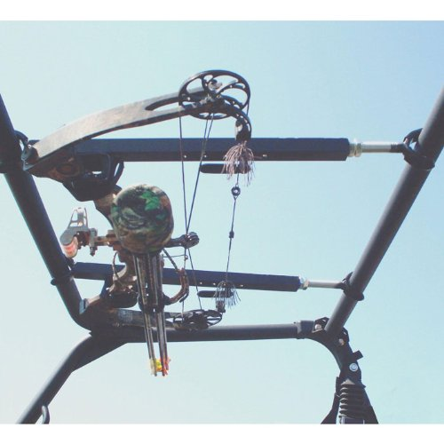 Great Day Inc Quick Draw Overhead Bow Rack - 28'' - 35'' QDXL851OBR