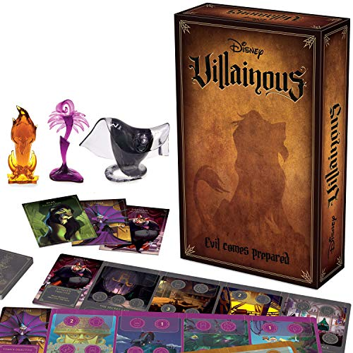 Ravensburger Disney Villainous: Evil Comes Prepared Strategy Board Game for Age 10 & Up – Stand-Alone & Expansion to The…