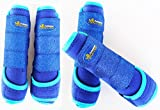 Professional Equine Horse Medium 4-Pack Sports Medicine Splint Boots 4167C