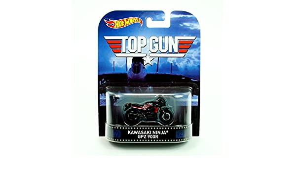 Hot Wheels Top Gun Kawasaki Ninja GPZ 900R 2015 Retro ...
