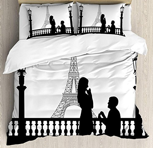 Crystal Emotion Engagement Party Decorations 4Pieces Home Comforter