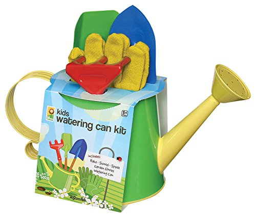 Toysmith-42300-Watering-Can-Garden-Tool-Assorted-Colors-5-Piece-Set