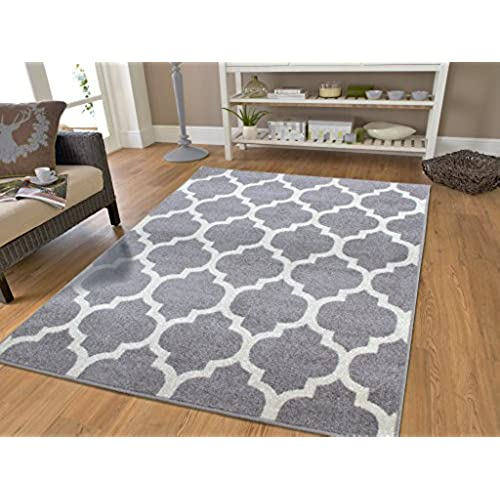Delicieux Gray Moroccan Trellis 7u002710x10u00276 Area Rug Carpet Large New Rugs For Living  Room Cheap, Large 8x11