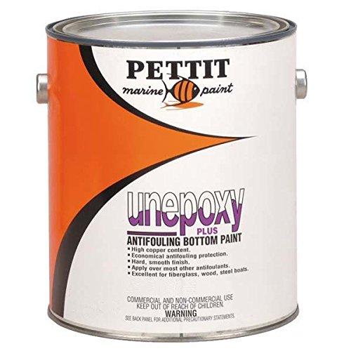 (Pettit Paint Unepoxy Plus, Black, Gallon)