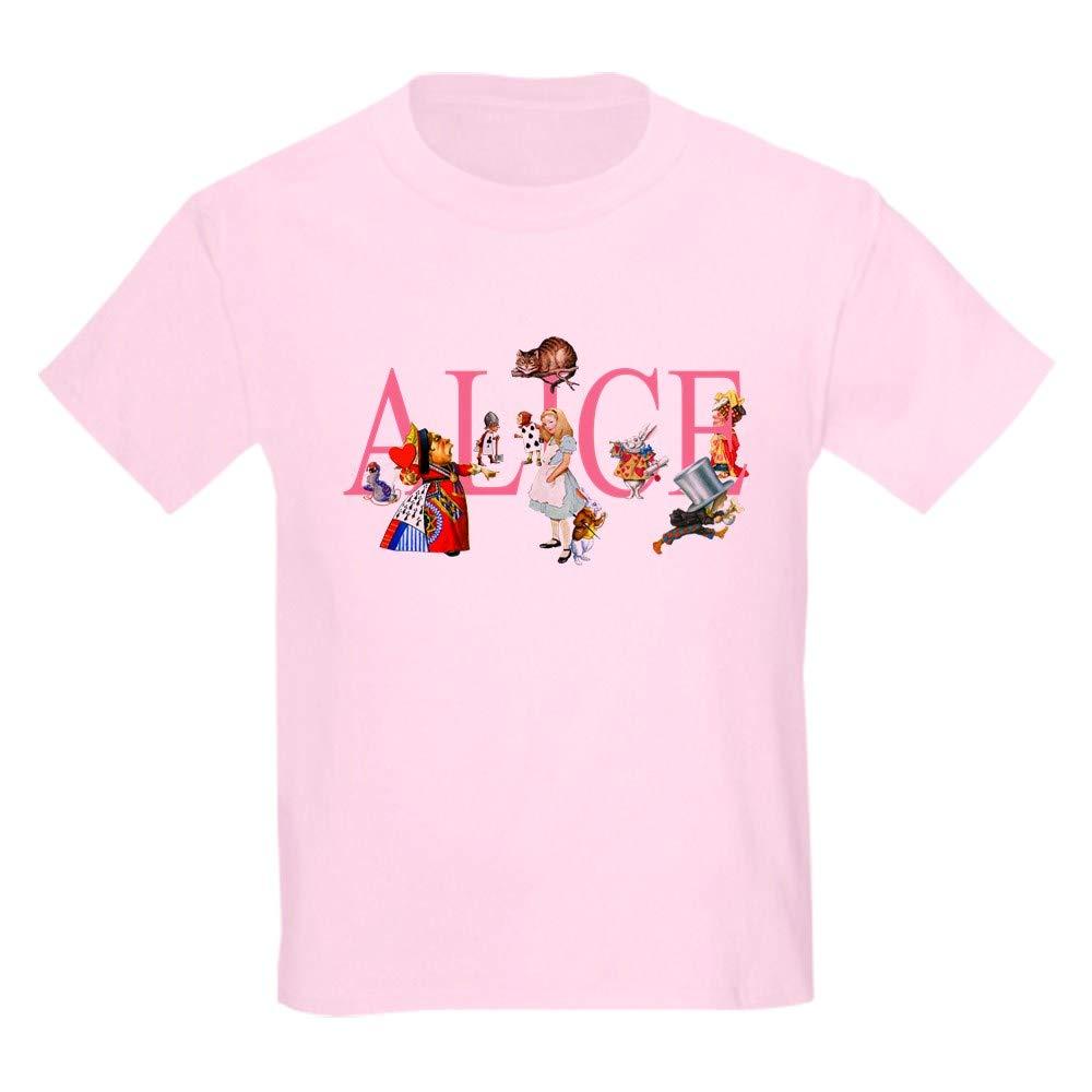 a495afc9 Amazon.com: CafePress Alice & Friends in Wonderland Kids Kids T-Shirt:  Clothing