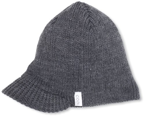 Coal Visor (Coal Men's The Basic Brim Beanie, Charcoal, One Size)