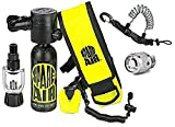 Spare Air New 1.7CF Package for Scuba Divers With Dial Gauge Upgrade, Fill Adapter, Holster, Leash, and FREE Quick Release Coil Lanyard ($15.95 Value) …